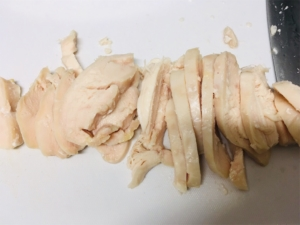ホットクックでおうちで簡単サラダチキン鶏ハム