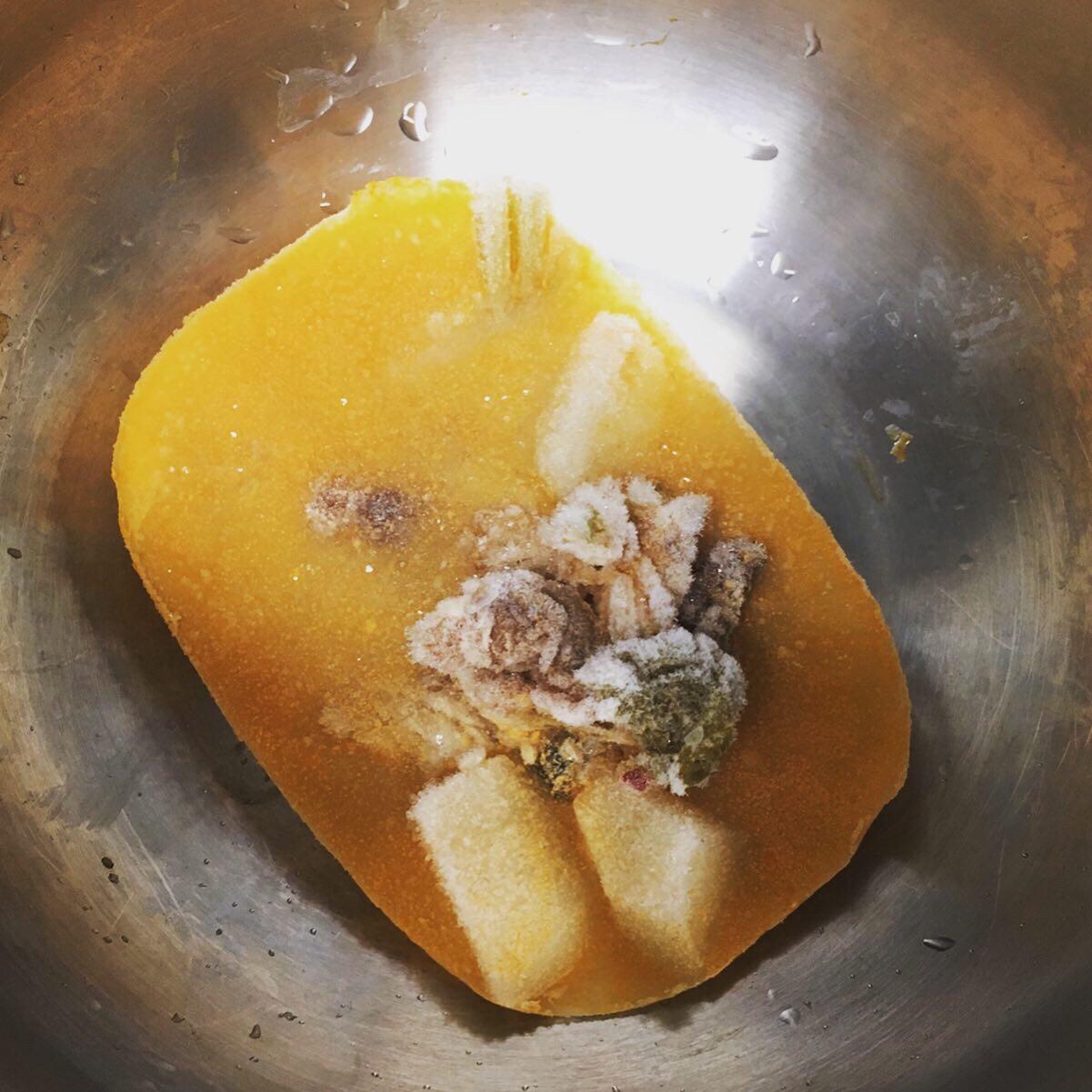 ホットクックで冷凍スープ温め直し加熱前