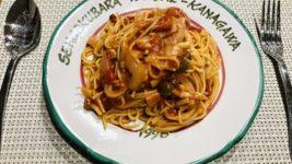 パスタごと茹でる!トマトパスタ