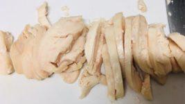 おうちで簡単サラダチキン。鶏ハム